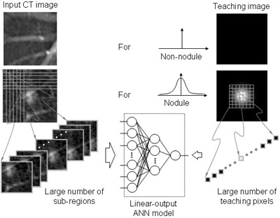Computerized Detection of Lung Nodules in Low-Dose CT, Part I: Basic Principle of Massive-Training Artificial Neural Network (MTANN) for Reduction of False Positives